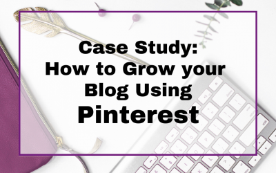 How to Grow Your Blog Using Pinterest : Pinterest Case Study