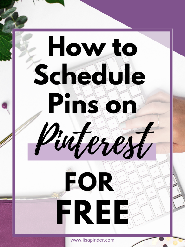 How to Schedule Pins on Pinterest for Free. Pinterest has a native scheduler that is free to use.