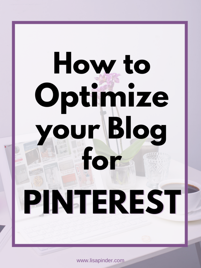 How to Optimize your Blog for Pinterest